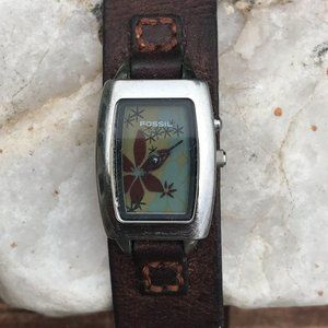 Vintage Fossil Women's Big Tic Animated Watch